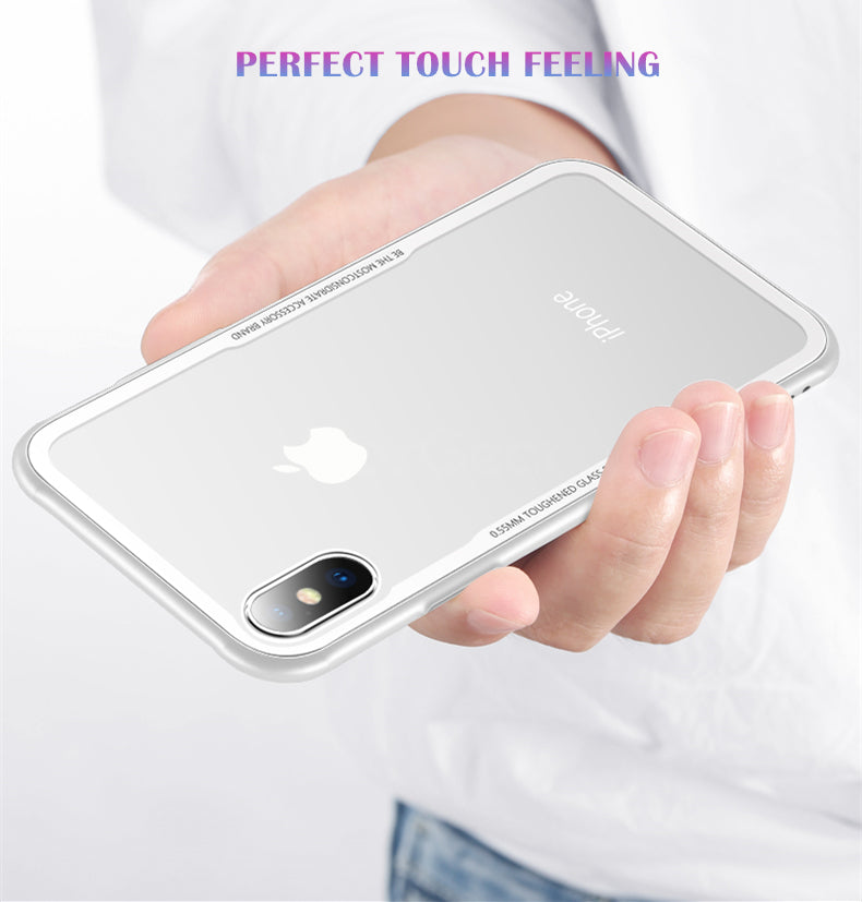 Apple iPhone X/Xs Genuine Toughened Back Glass Wireless Edition Case
