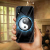 VIVO Y91 Ultra Slim Toughened Yin Yang Good Luck Glass Case
