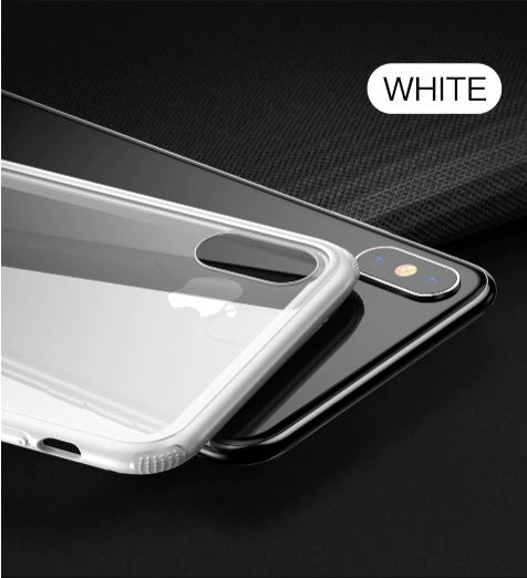 Original Baseus Scratchless Toughened Back Glass Wireless Edition Case for Apple iPhone XR