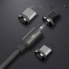 REMAX Hi-Speed Unbreakable Metal Magnetic Type C Charging Data Cable for Samsung & OnePlus