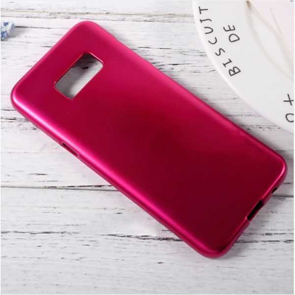 Samsung Galaxy S8 Plus Ultra Slim Jelly Touch Mercury Glossy Case