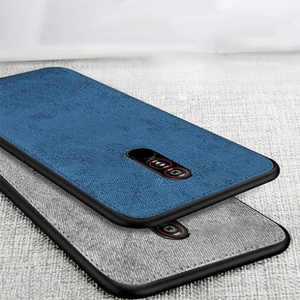 Oppo F11 Pro Ultra Slim Suede Fabric TPU Cloth Case