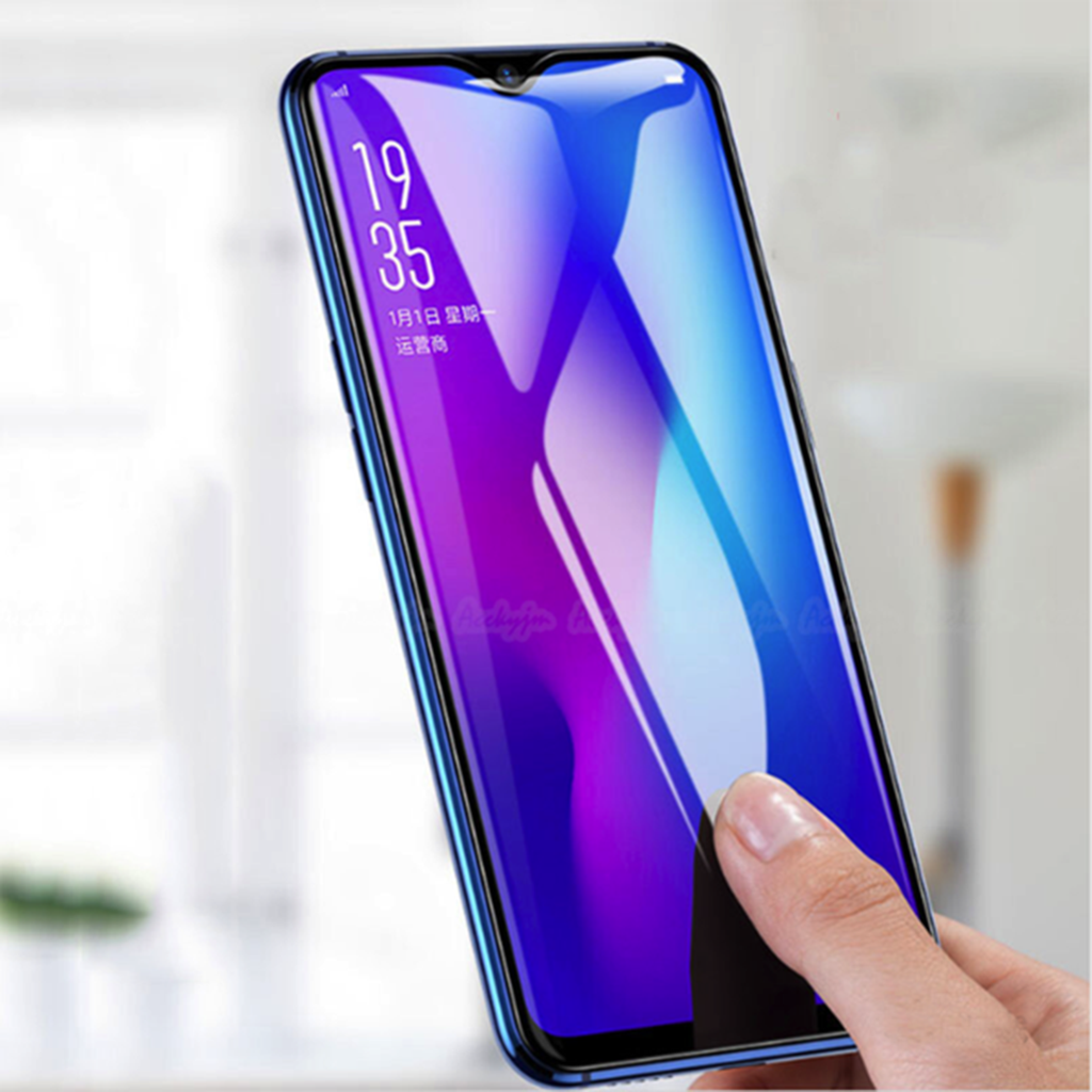100% Original OPPO F9/F9 Pro 5D Curved Tempered Glass Screen