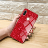 Redmi Note 5 Pro Ultra Slim Toughened Marble Glass Case