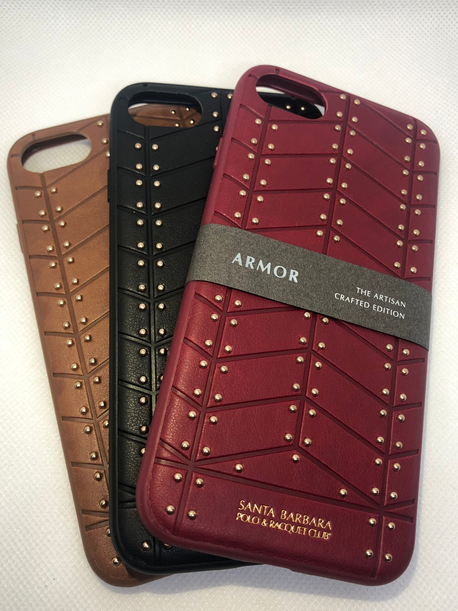 Apple iPhone 7/8 100% Original Santa Barbara Armor Luxurious Leather Case