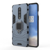 OnePlus 8/8 Pro Shockproof Rugged Iron Man Armour Case With Rotating Magnetic Ring