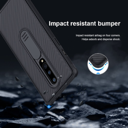 OnePlus 8/8 Pro Nillkin® CamShield Protective Matte Armour Case