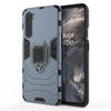 OnePlus Nord Shockproof Rugged Iron Man Armour Case With Rotating Magnetic Ring