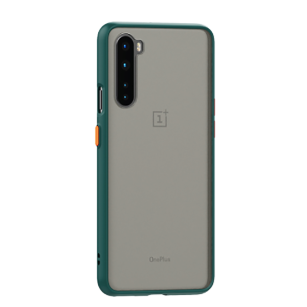 OnePlus Nord Luxurious Smoky Matte Shockproof Armour Case