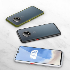 OnePlus 7 Pro Luxurious Smoky Matte Shockproof Armour Case