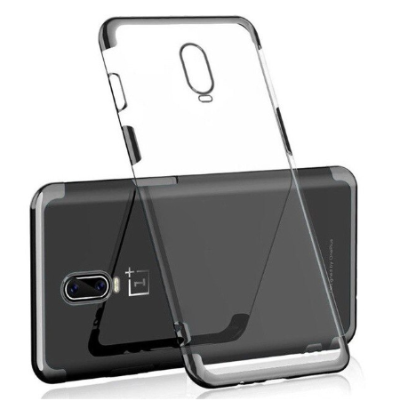 OnePlus 7 Ultra Thin Transparent Luxurious Glitter Hard Case