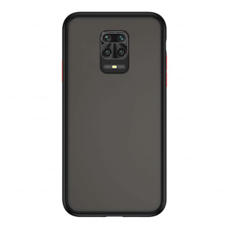 Redmi Note 9 Pro Luxurious Smoky Matte Shockproof Armour Case