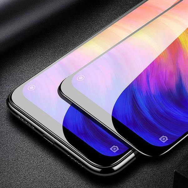 100% Original Redmi Note 7/7 Pro 5D Curved Tempered Glass Screen Protector