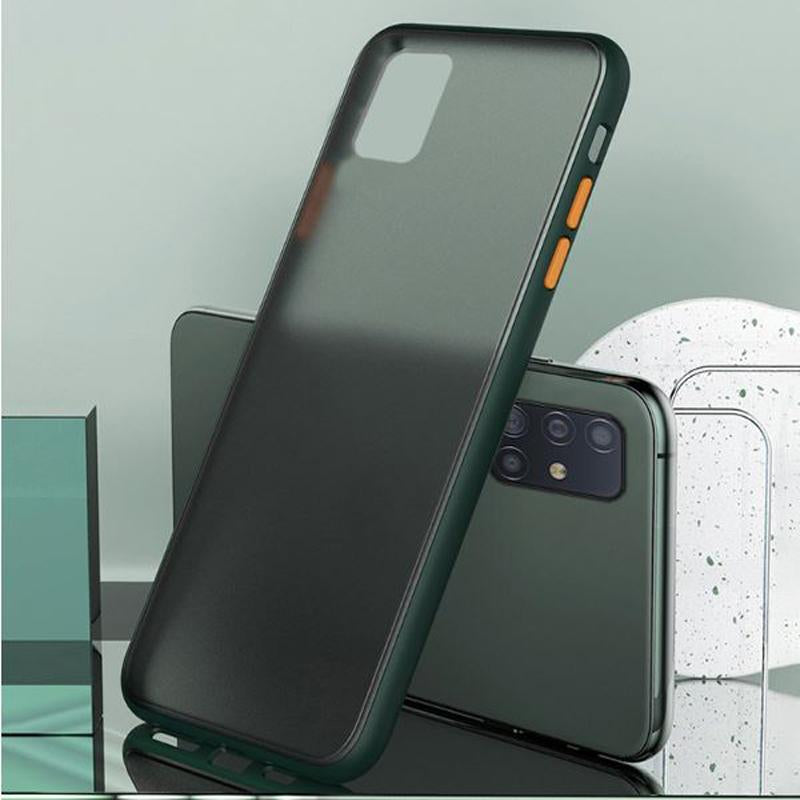Samsung Galaxy M31S Luxurious Smoky Matte Shockproof Armour Case