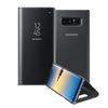 Samsung Note 8 Official Clear View Dynamic Standing Cover (With Free Back Screen Guard)