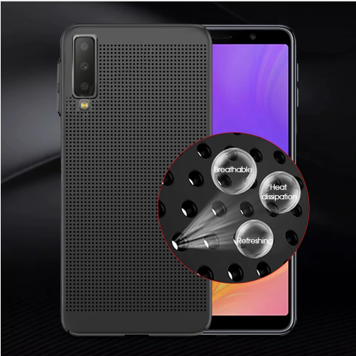 Samsung Galaxy A7 (2018) Ultra Slim Breathable Dot Series Matte Hard Case