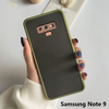 Samsung Galaxy Note 9 Luxurious Smoky Matte Shockproof Armour Case