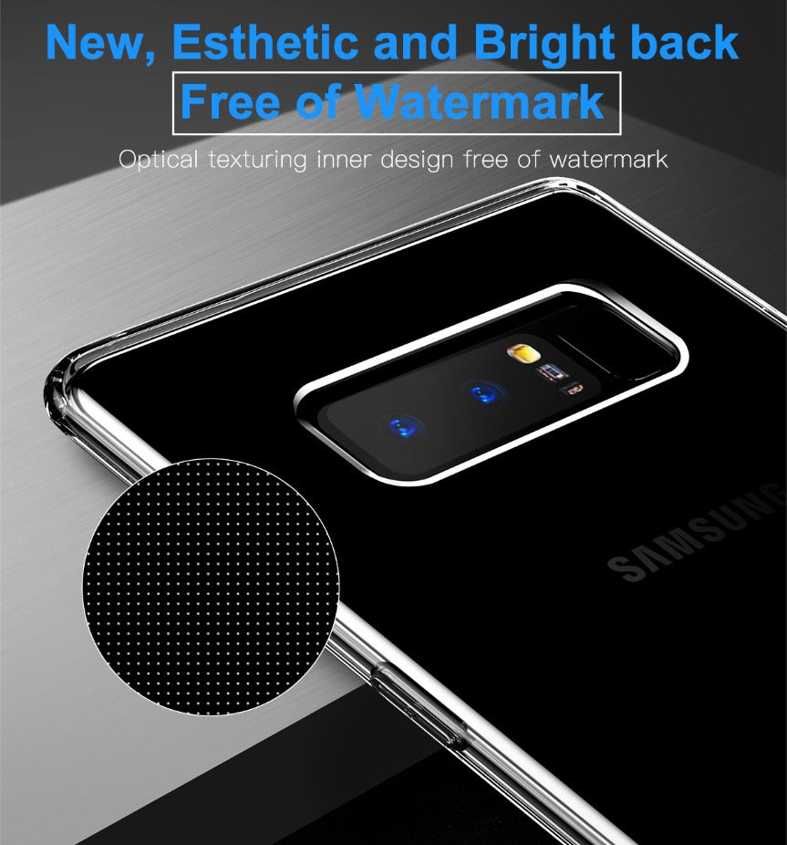 Samsung Galaxy Note 8 Baseus Soft Silicone Ultra Slim Back Cover (Simple Series)