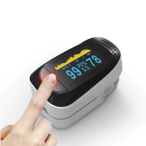 Genuine Digital High Quality TFT Fingertip Pulse Oximeter With Heart Rate Monitor