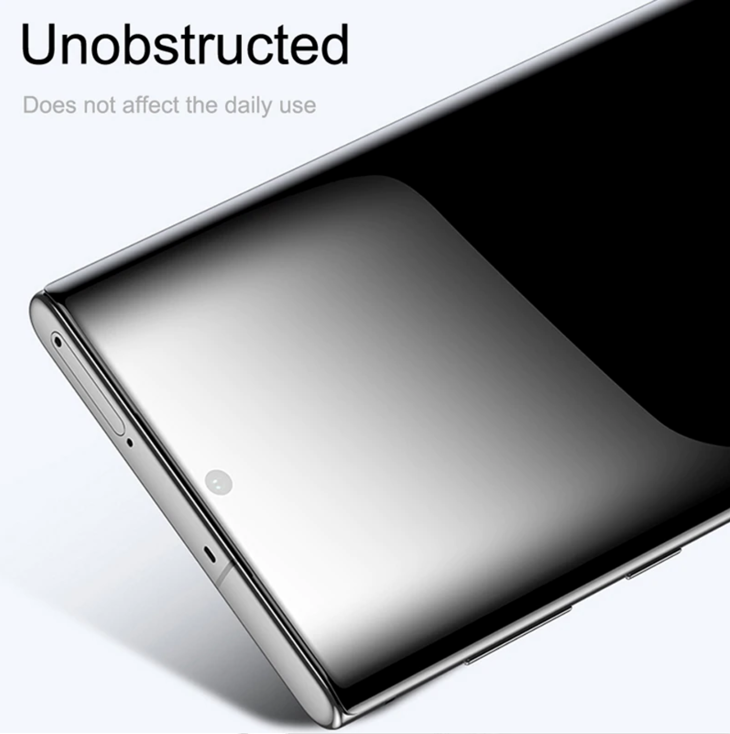 Samsung Galaxy Note 10 Plus 100% Original Tempered Glass- 4D Curved for Edge to Edge protection