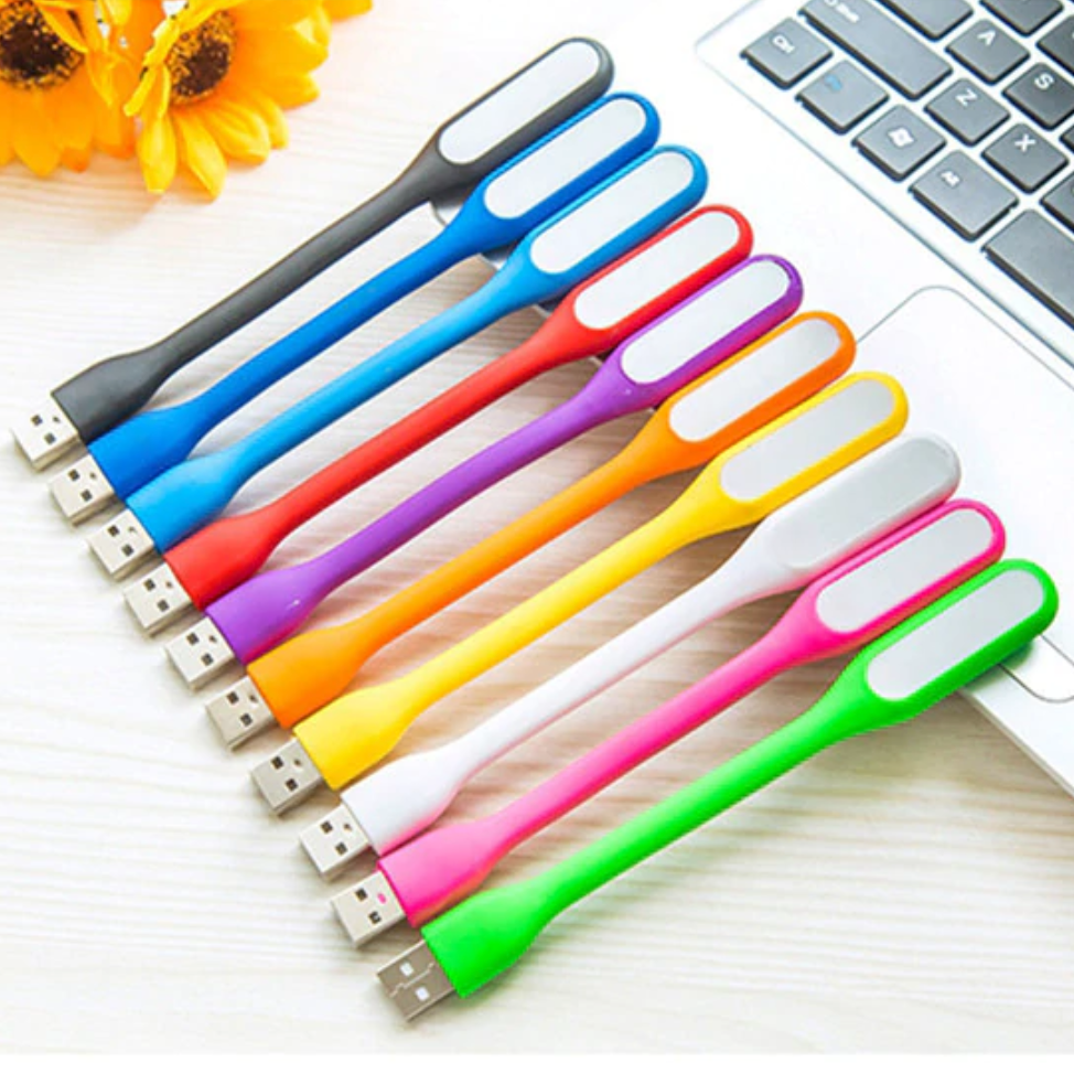 Mini 6 LED Portable USB flexible Light Lamp
