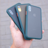 Apple iPhone XR Luxurious Smoky Matte Shockproof Armour Case