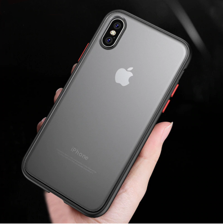 Apple iPhone 7/8 Luxurious Smoky Matte Shockproof Armour Case