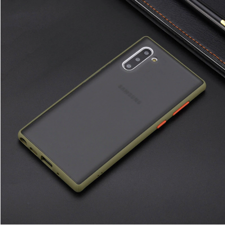 Samsung Galaxy Note 10 Plus Luxurious Smoky Matte Shockproof Armour Case