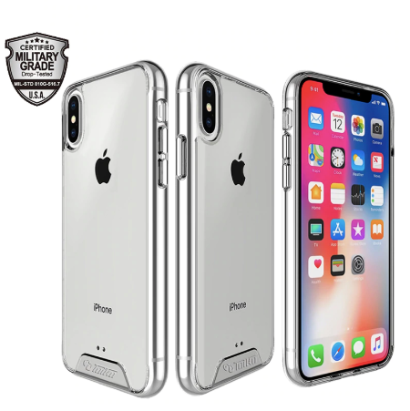 Apple iPhone XR Shockproof Ultra Strong Transparent Hard Space Case