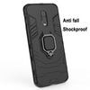 OnePlus 7 Shockproof Rugged Iron Man Armour Case With Rotating Magnetic Ring