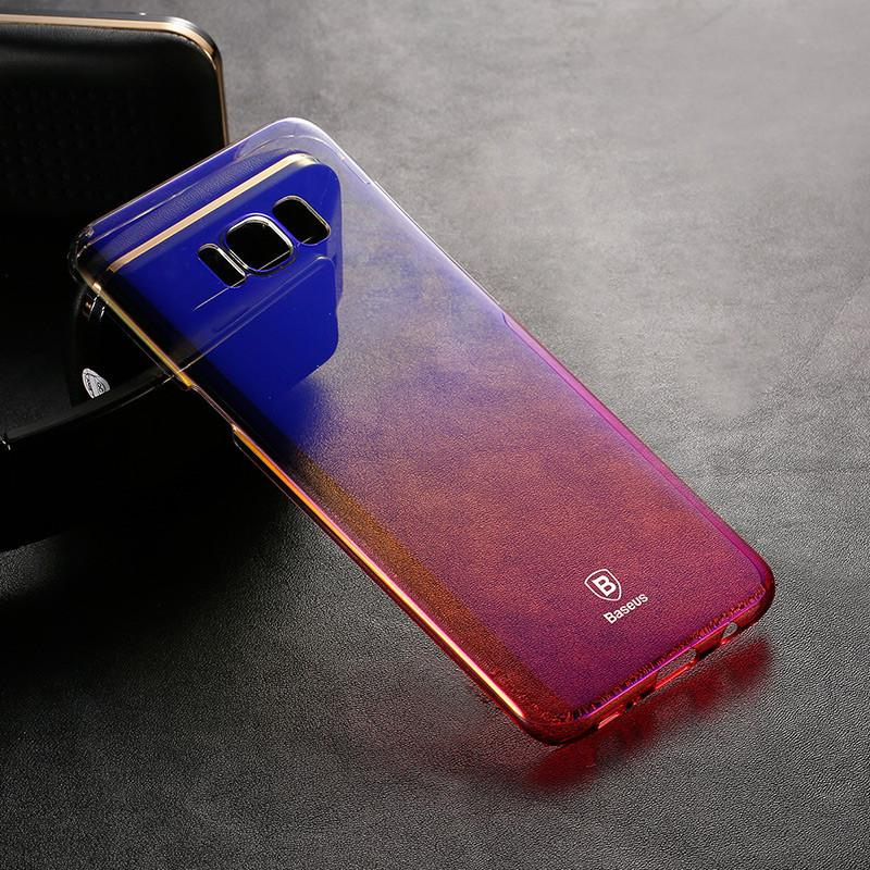 Samsung Galaxy S8/S8 Plus Luxurious Gradient Color Ultra Slim Glaze Hard Case