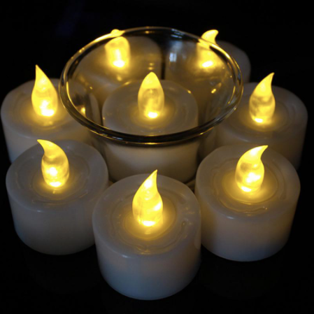 Electric Tea Light Smokeless Decorative LED Lamps