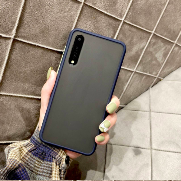 Samsung Galaxy A7 (2018) Luxurious Smoky Matte Shockproof Armour Case