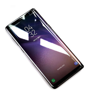 Samsung Note 8 100% Original Tempered Glass- 4D Curved for Edge to Edge protection