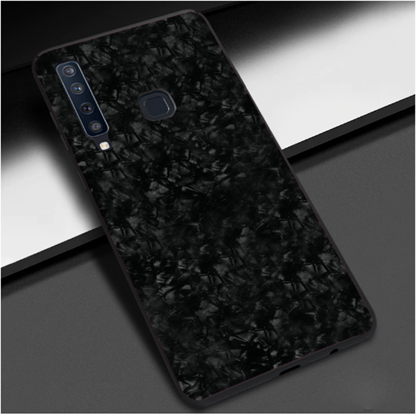 Samsung Galaxy A9 (2018) Ultra Slim Toughened Marble Case