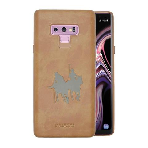 Samsung Galaxy Note 9 100% Genuine Santa Barbara Jockey Series® Leather Hard Case