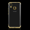 VIVO V9 Ultra Thin Transparent Luxurious Glitter Hard Case