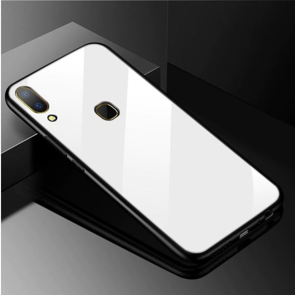 VIVO Y95 Toughened 5D Back Glass Wireless Edition Ultra Slim Case