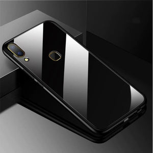 VIVO Y91 Toughened 5D Back Glass Wireless Edition Ultra Slim Case