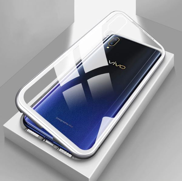 VIVO V11 Pro Magnetic Auto-Fit 360 Degrees Armoured Case (with Free Tempered)