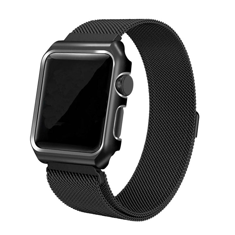 Apple iWatch 42/44mm Luxurious Milanese Bracelet Pearl Strap (Watch not Included)