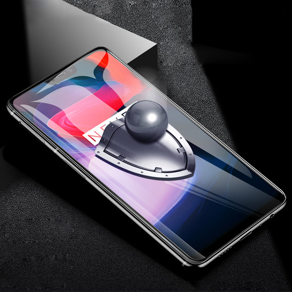OnePlus 6 Official Gorilla 100% Original 5D Curved Tempered Glass Screen Protector