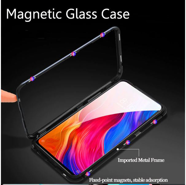 Redmi Note 6 Pro Magnetic Auto-Fit 360 Degrees Armoured Case
