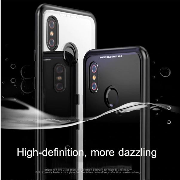 huge selection of 4fae2 cee01 Redmi Note 5 Pro Magnetic Auto-Fit 360 Degrees Armoured Case ...