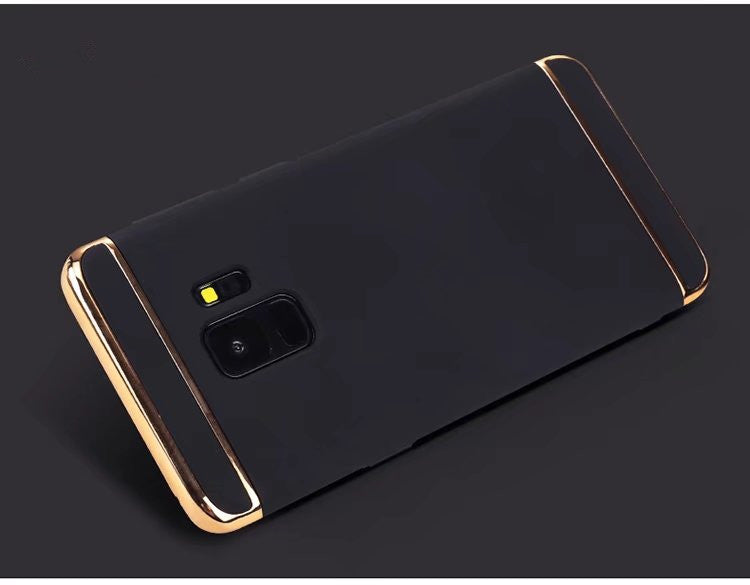 Samsung Galaxy S9 Plus Luxurious Electroplated 3 in 1 Hard Back Case