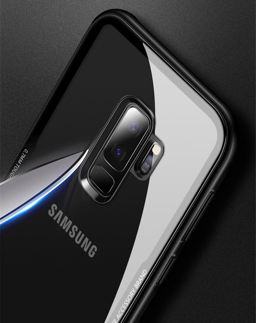 Samsung Galaxy S9 Plus Scratchless Toughened Back Glass Wireless Edition Case