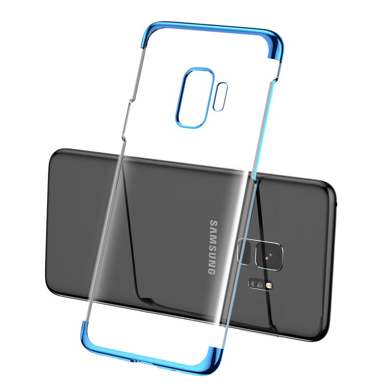 Samsung Galaxy S9 Ultra Thin Transparent Luxurious Glitter Case
