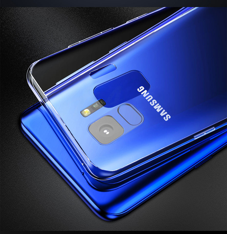 Samsung Galaxy S9 Plus Anti-Skid Transparent Ultra Slim Soft Back Cover