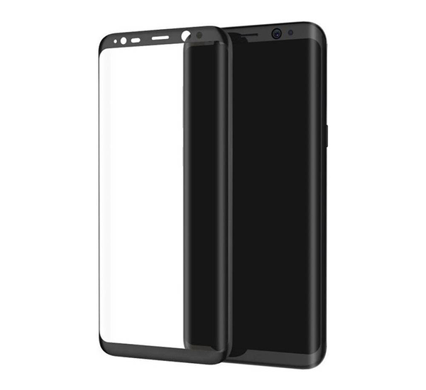 Original Samsung Galaxy S8 plus 4D Curved Screen Gorilla Armour Tempered Glass