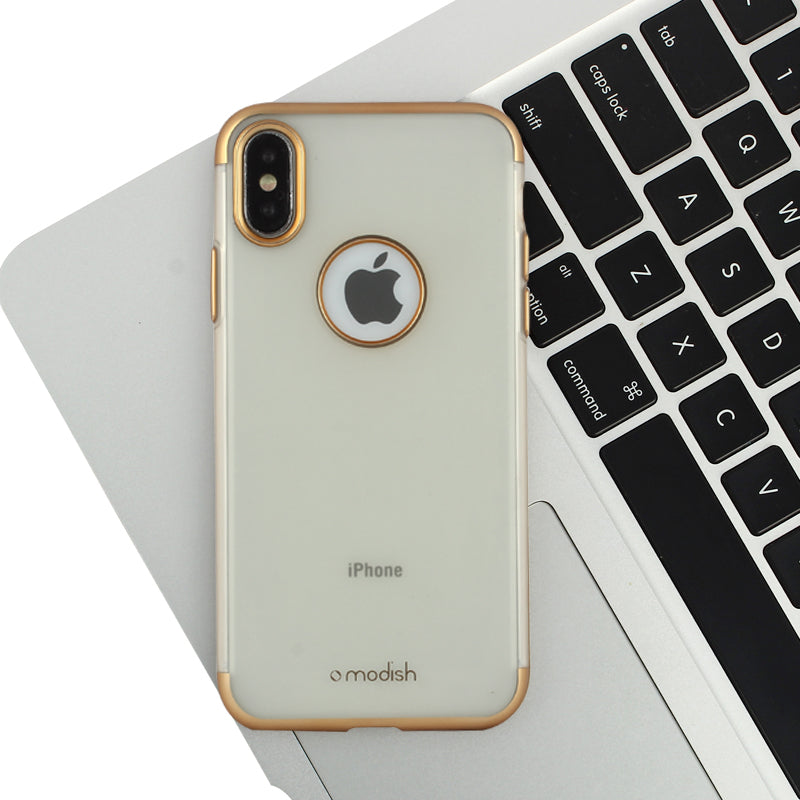 Apple iPhone X/Xs Ultra Thin Frosted Electroplating Hybrid Silicone Case